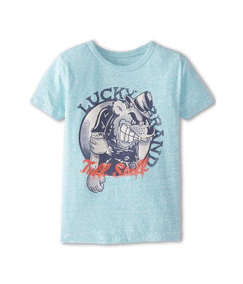 Lucky Brand Kids - Tuff Stuff Tee (Little Kids/Big Kids) (Aquabird) Boy's T Shirt