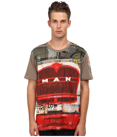 Vivienne Westwood MAN - Lorry T-Shirt (Green) Men's T Shirt