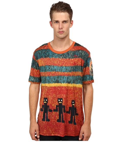 Vivienne Westwood MAN - Ikat Shirt (Red Multi) Men