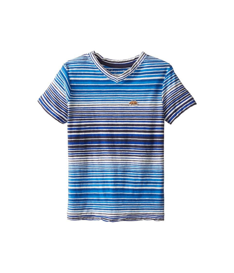 Lucky Brand Kids - The Stripe Tee (Little Kids/Big Kids) (Campanula) Boy