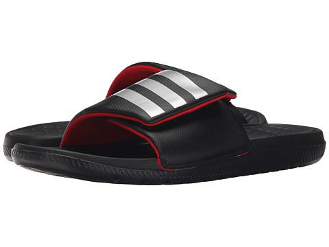 adidas - Voloomix Vario (Black/Scarlet/Silver) Men's Sandals