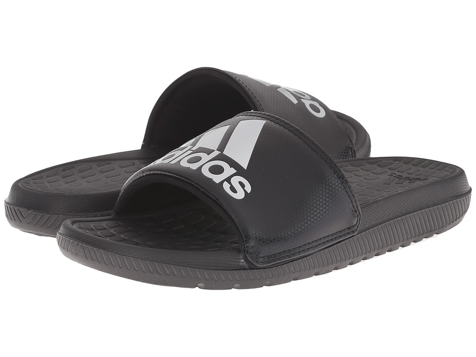adidas - Voloomix (Black/Silver Metallic) Men's Sandals