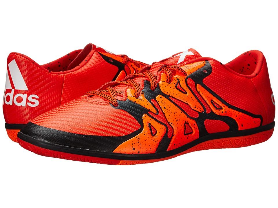 adidas - X 15.3 IN (Bold Orange/Black/Solar Orange) Men's Soccer Shoes