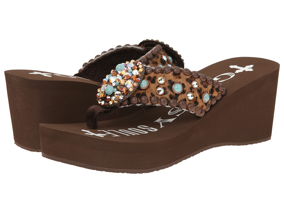 Gypsy SOULE - Kaitlyn Heel (Brown) Women