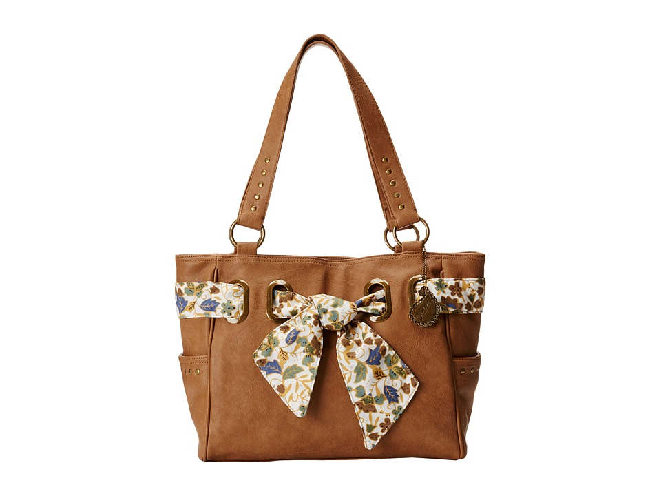 American West - Bandana Signature Collection Carry All Tote (Tan) Handbags