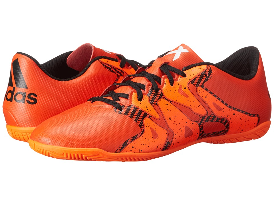 adidas - X 15.4 IN (Bold Orange/Black/Solar Orange) Men's Soccer Shoes