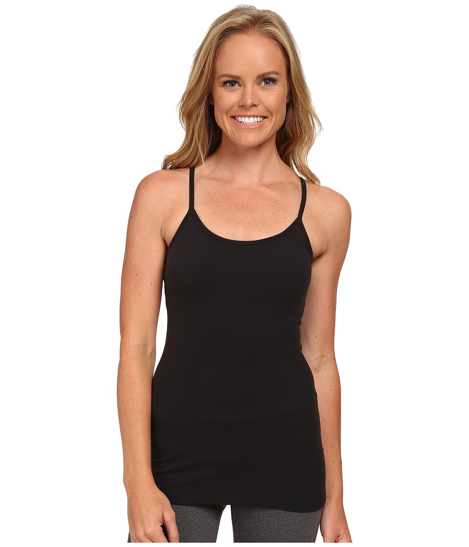 Beyond Yoga - Slim Racerback Cami (Black) Women's Sleeveless