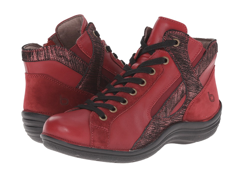 Bionica - Orbit (Fire Red/Claret) Women's Lace up casual Shoes