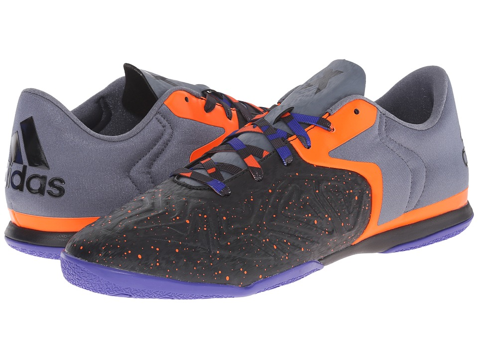 adidas - X 15.2 CT (Black/Solar Orange/Night Flash) Men's Shoes