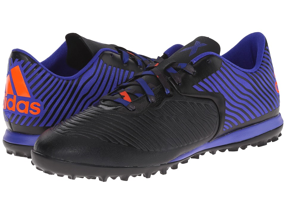adidas - X 15.2 CG (Black/Flash Red/Night Flash) Men's Shoes