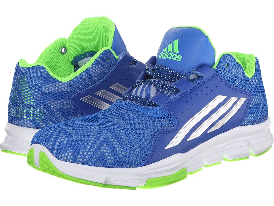 adidas - Gameday (Bright Royal/Silver Metallic/Solar Green) Men's Shoes