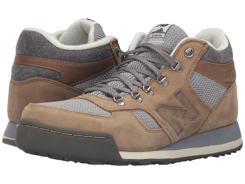 New Balance - HRL710 - Trail Collection (Brown/Grey Suede/Textile) Men's Shoes