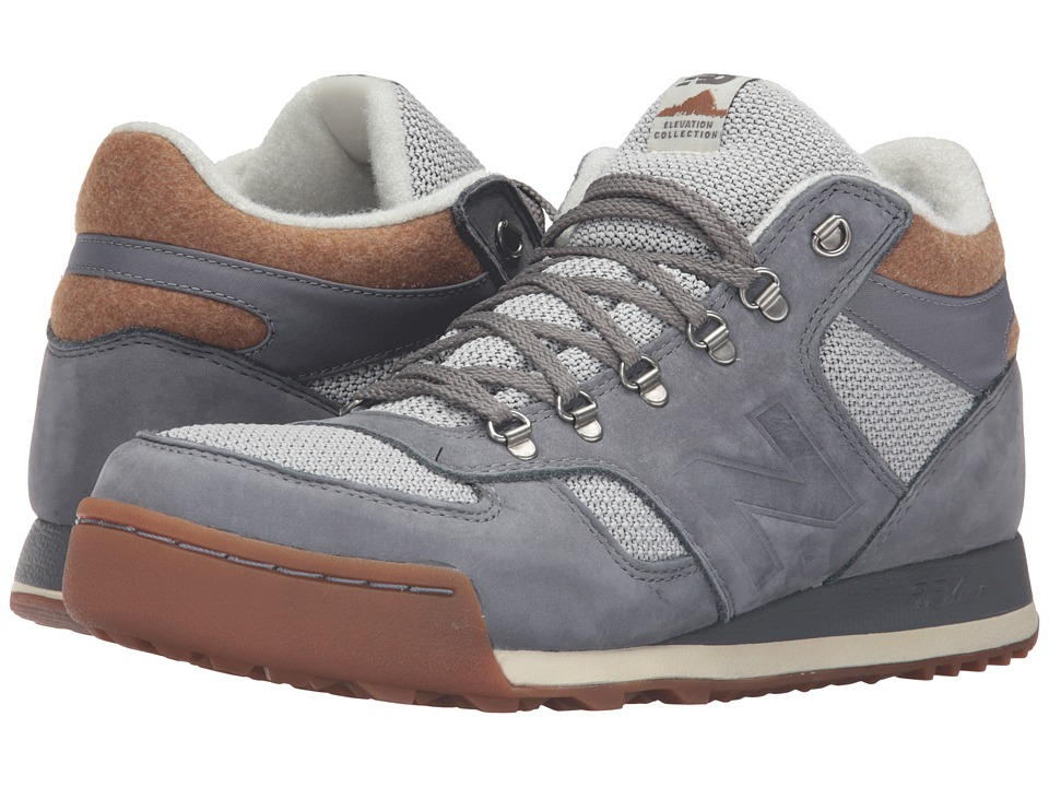 New Balance - HRL710 - Trail Collection (Grey/Brown Suede/Textile) Men's Shoes