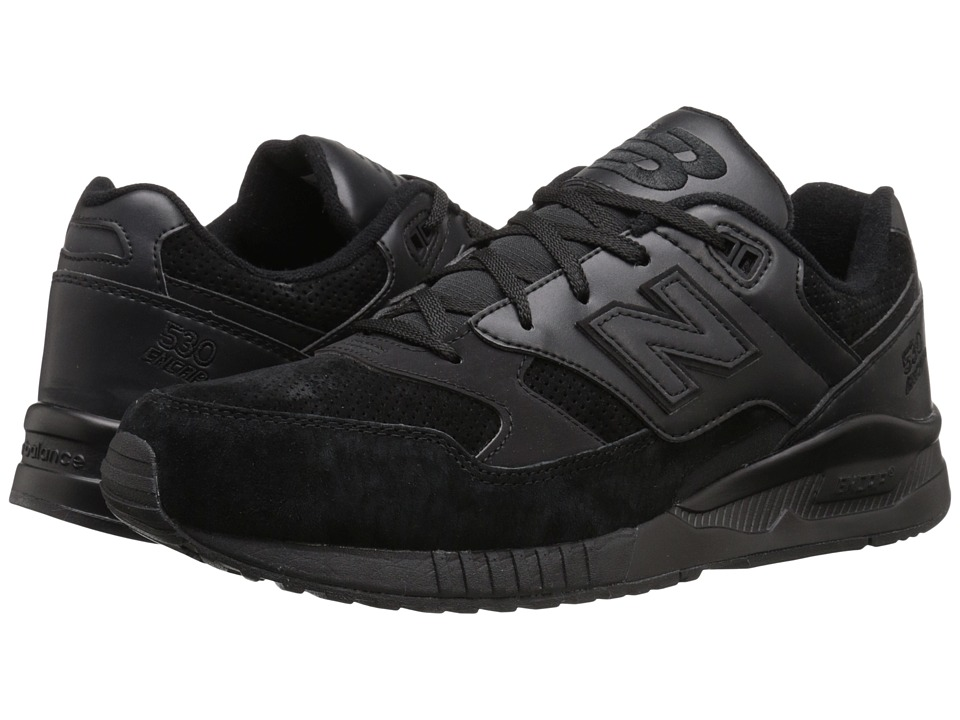New Balance - M530 (Black Leather) Men