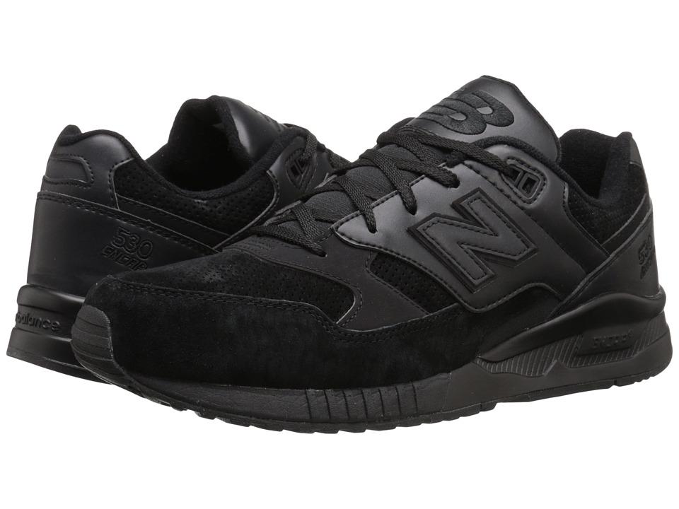 New Balance M530 (Black Leather) Men