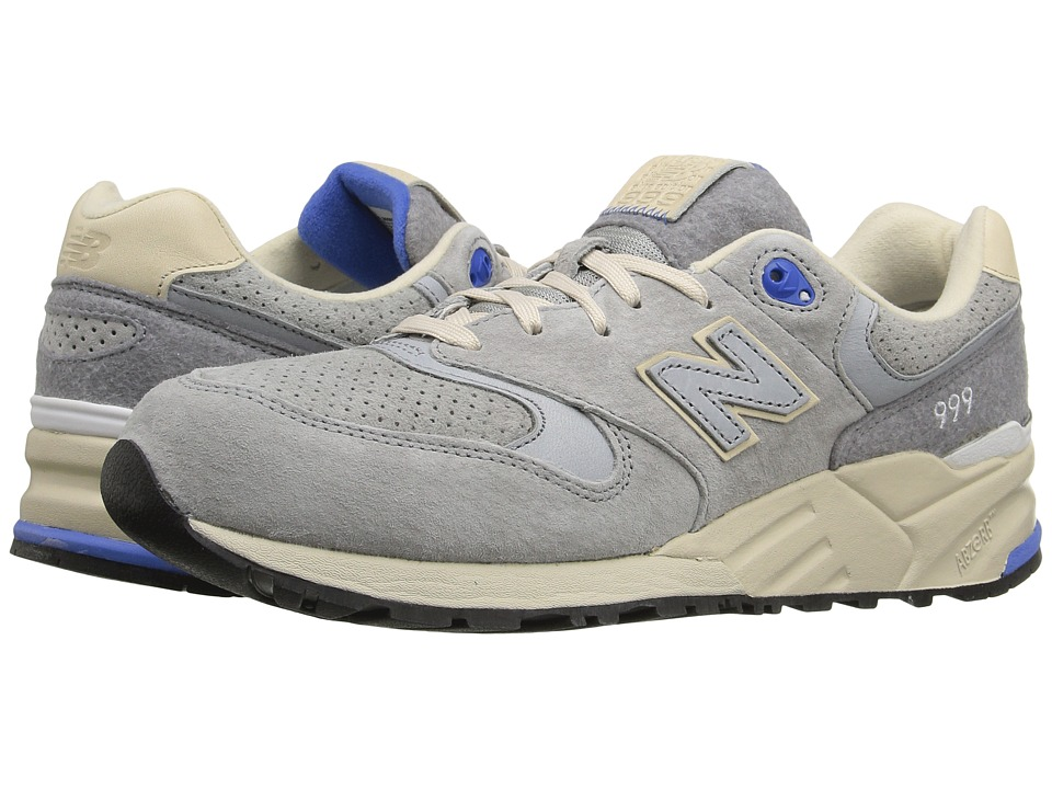 New Balance - ML999 (Grey Pig Suede) Men's Classic Shoes