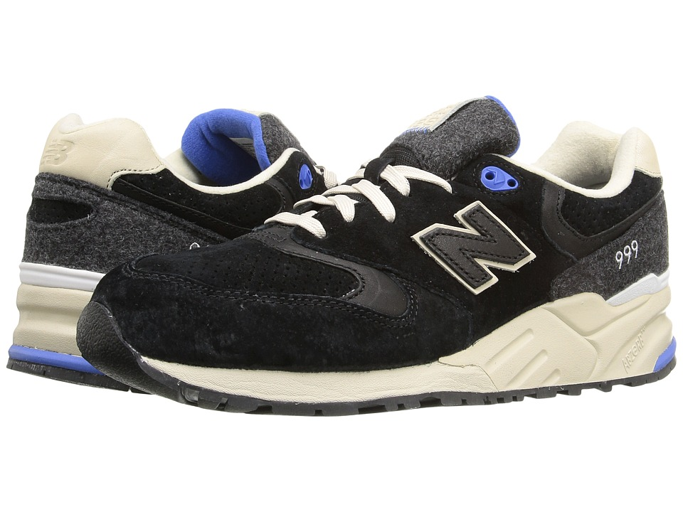 New Balance - ML999 (Black Pig Suede) Men