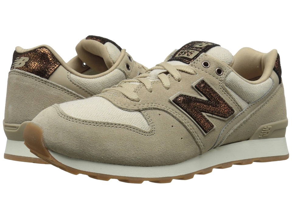 New Balance Classics - WL696 (Sandstone Suede/Textile/Leather) Women's Classic Shoes