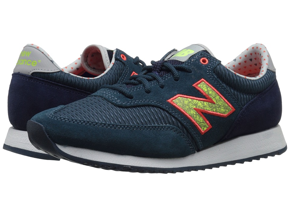 New Balance Classics - CW620 (Navy/Yellow Suede/Mesh) Women's Classic Shoes