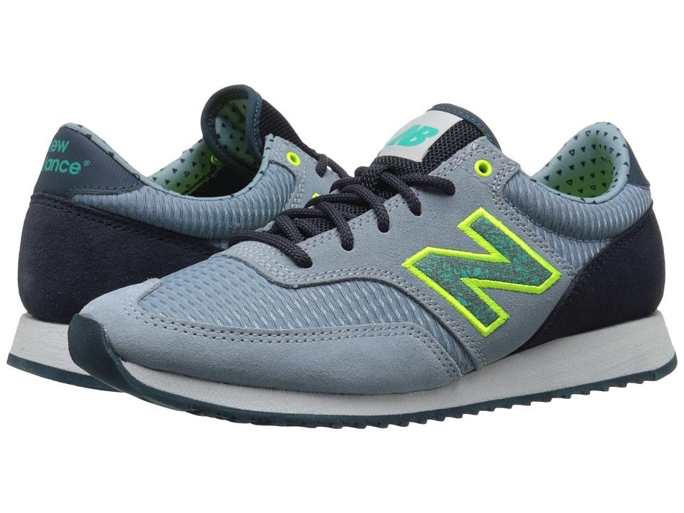 New Balance Classics - CW620 (Grey/Green Suede/Mesh) Women's Classic Shoes