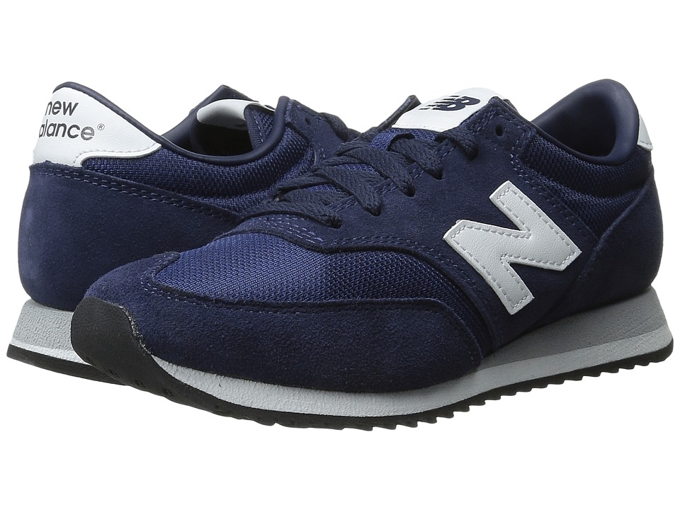 New Balance Classics - CW620 (Navy Suede/Mesh) Women's Classic Shoes