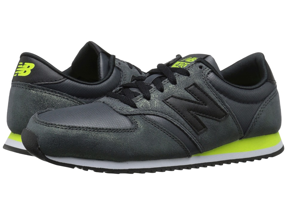 New Balance Classics - WL420 (Black Leather/Textile) Women's Classic Shoes