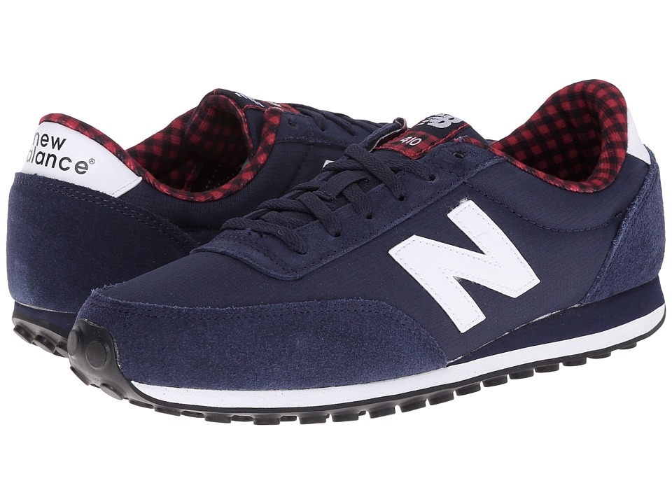 New Balance Classics - WL410 (Navy Suede/Textile) Women's Classic Shoes