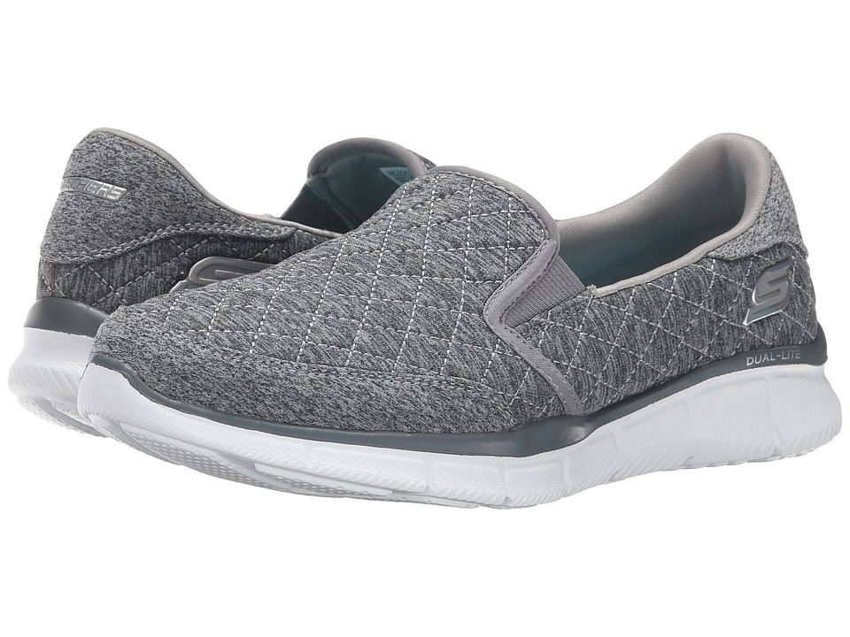 SKECHERS - Equalizer (Grey) Women's Shoes
