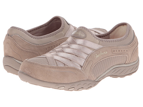SKECHERS - Breathe-Easy - Lasting Impression (Taupe) Women's Shoes