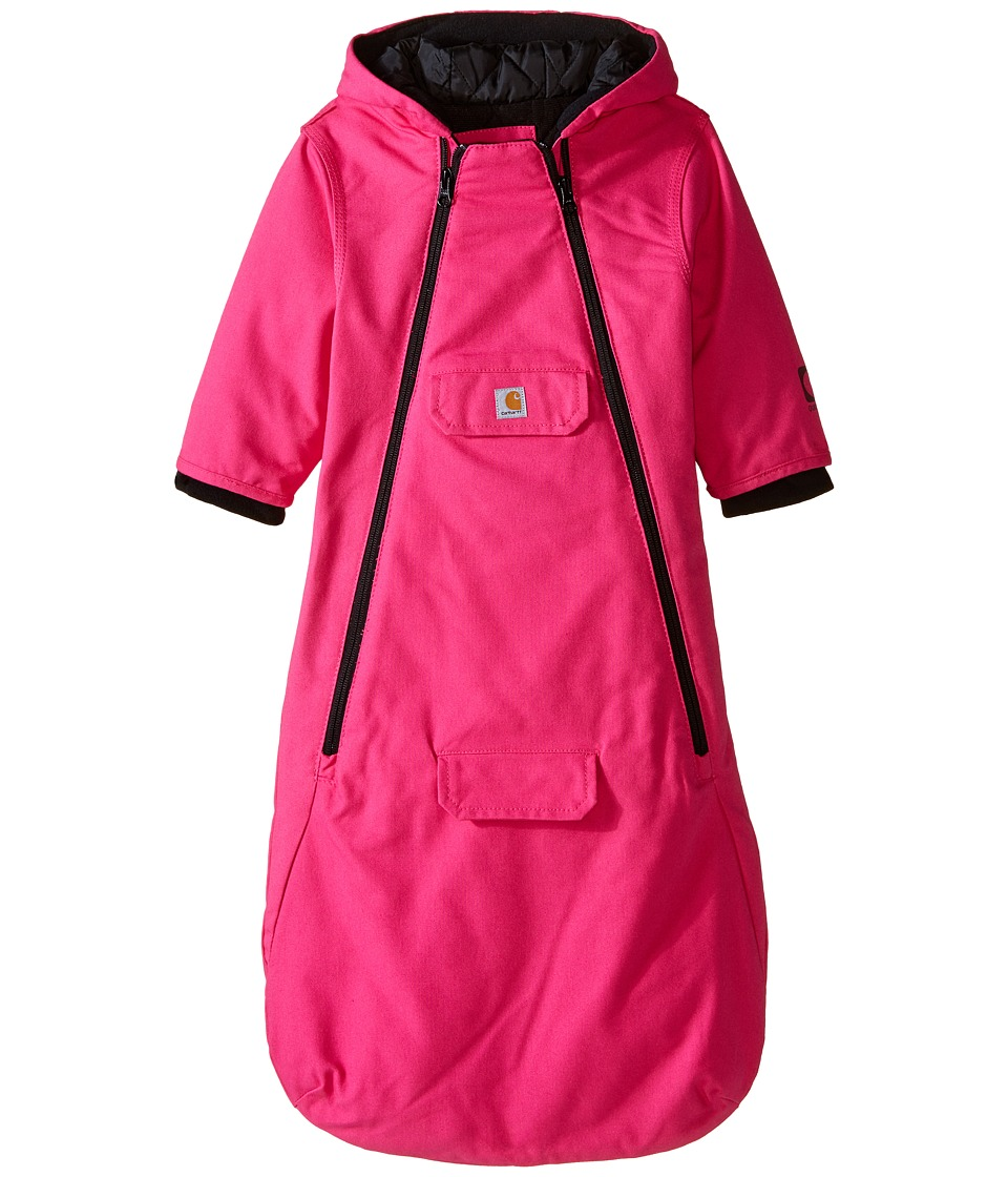Carhartt Kids - Quick Duck(r) Bunting (Infant) (Raspberry Rose) Girl's Snow Bibs One Piece