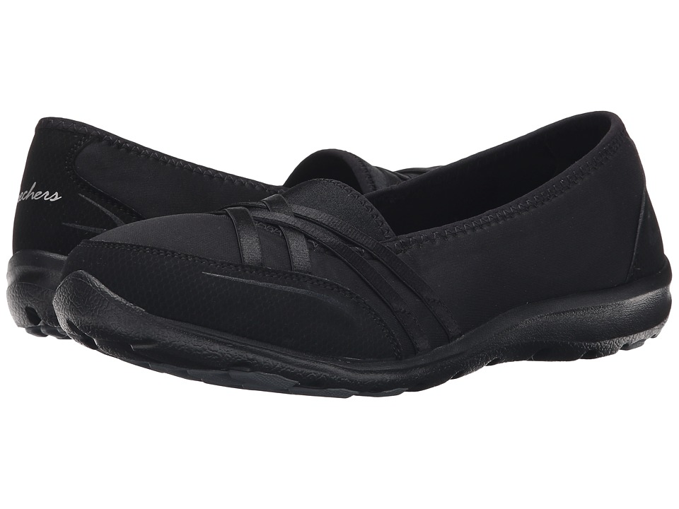 SKECHERS - Dreamchaser - Peas-In-A-Pod (Black) Women's Slip on Shoes