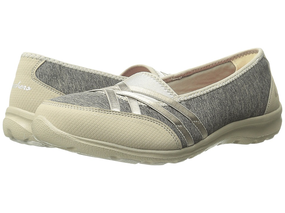 SKECHERS - Dreamchaser - Peas-In-A-Pod (Taupe) Women's Slip on Shoes