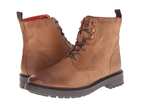 Base London - Brunel (Tan) Men's Lace-up Boots