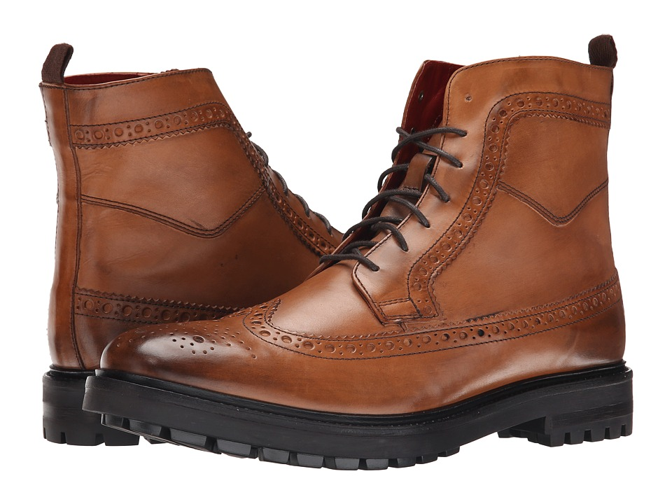 Base London - Locke (Tan) Men's Lace-up Boots