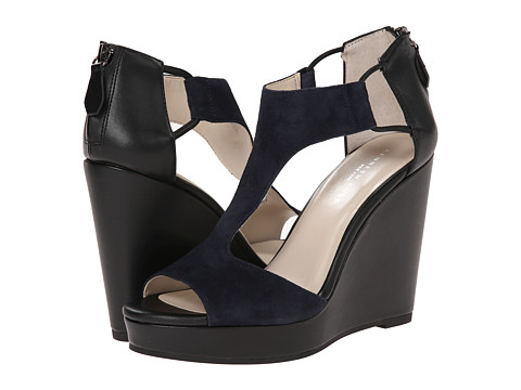 Kenneth Cole New York - Hayley (Navy/Black) Women's Wedge Shoes