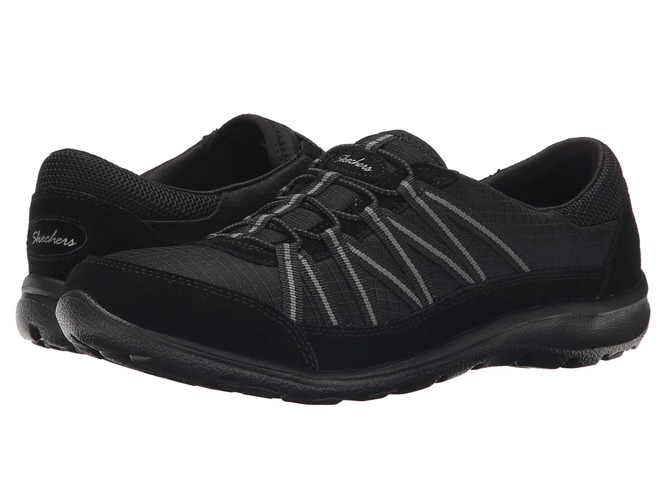 SKECHERS - Dreamchaser - Romantic Trail (Black) Women's Lace up casual Shoes