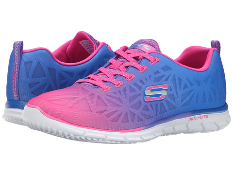 SKECHERS - Glider - Zealous (Red/Pink) Women