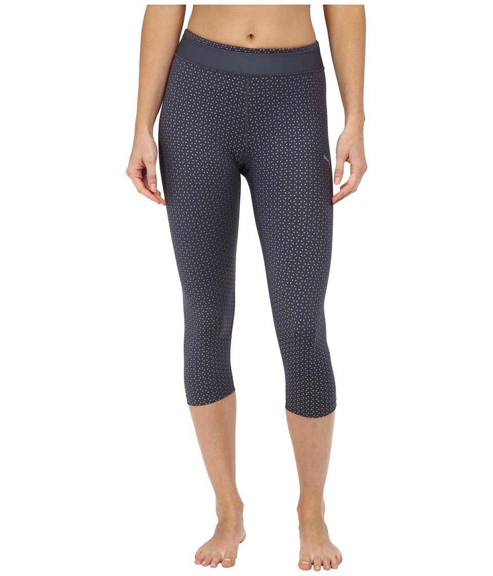 PUMA - WT All Eyes On Me 3/4 Tight (Periscope/Metallic Print) Women's Dress Pants