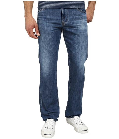 AG Adriano Goldschmied - Prot g Straight Leg Denim in 7 Years Albatross (7 Years Albatross) Men