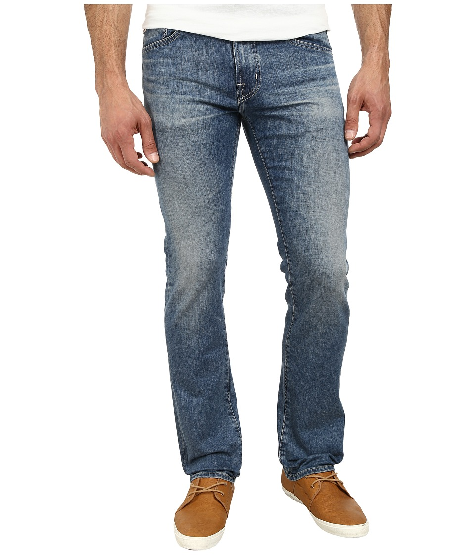AG Adriano Goldschmied - Matchbox Slim Straight Leg Denim in 15 Years Cape (15 Years Cape) Men's Jeans