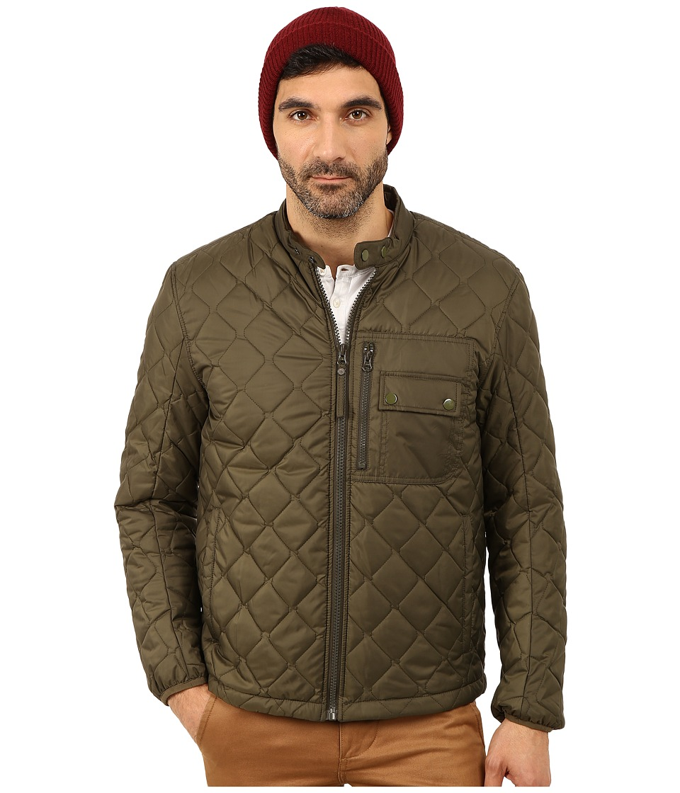 Marc New York by Andrew Marc - Orchard Poly Fill Quilted Bomber (Olive) Men