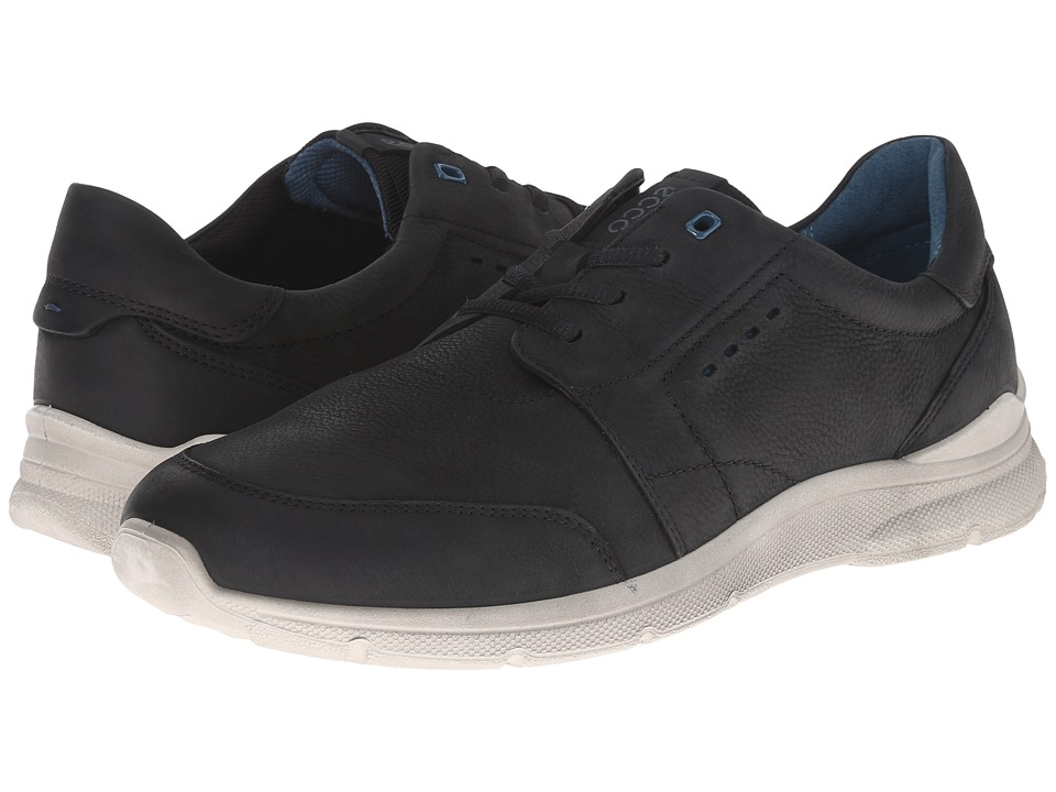 ECCO - Irondale Tie (Black) Men's Lace up casual Shoes