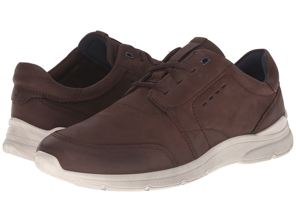 ECCO - Irondale Tie (Coffee) Men's Lace up casual Shoes