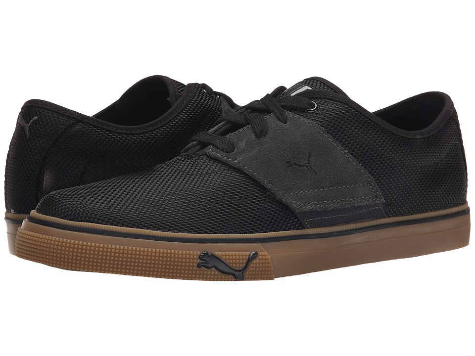 PUMA - El Ace Ripstop (Black/Dark Shadow) Men