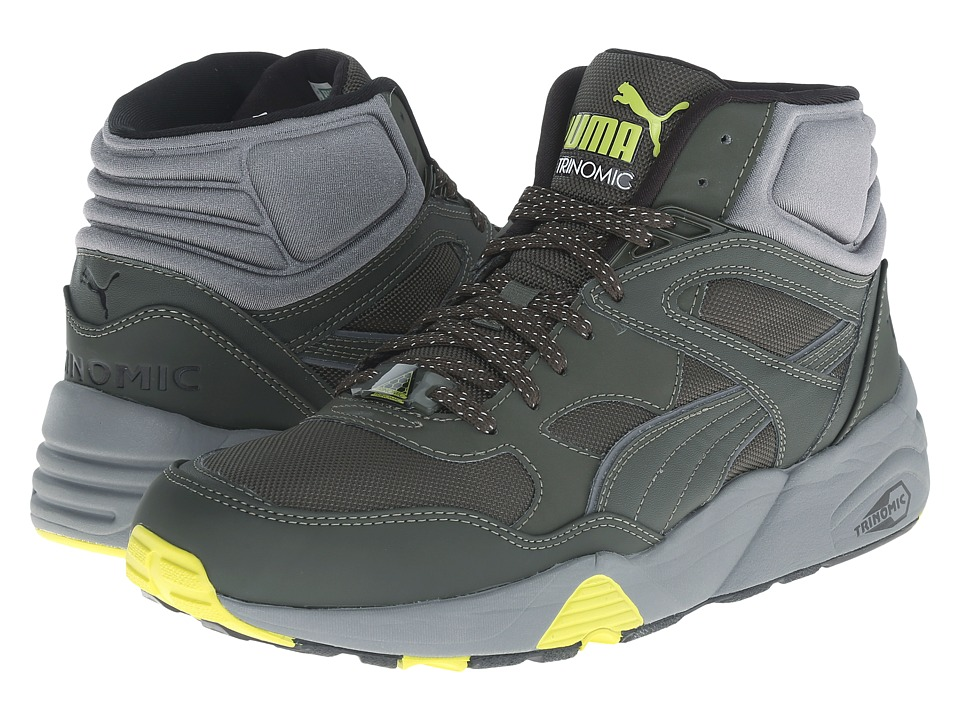 PUMA - R698 Winter (Forest Night/Steel Gray) Men's Shoes