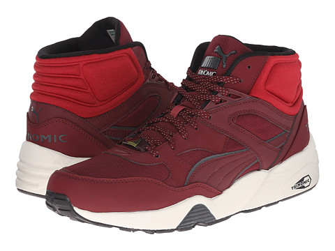 PUMA - R698 Winter (Cabernet/Rio Red/Whisper White) Men's Shoes