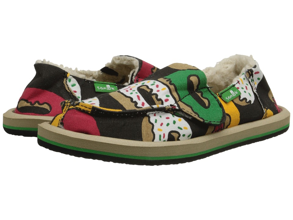 Sanuk Kids - Lil Munchies Chill (Toddler/Little Kid) (Irie Glazed/Confused) Kids Shoes