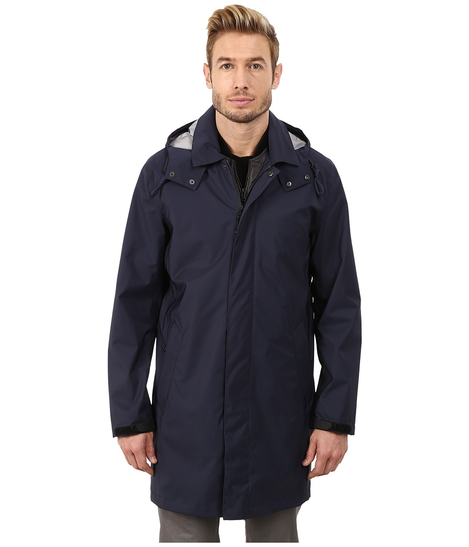 Cole Haan - 3 in 1 Bonded Softshell Topper (Navy) Men