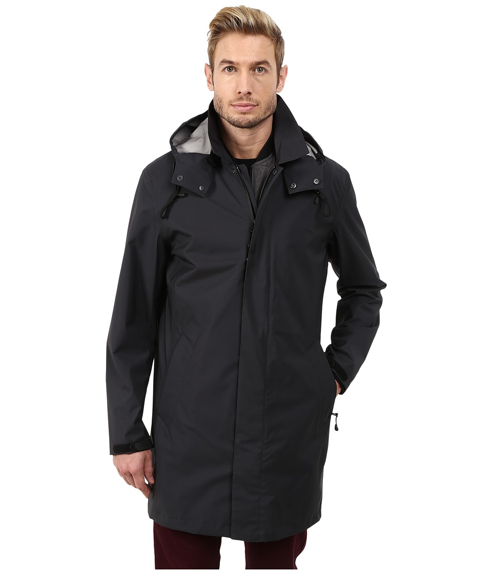 Cole Haan - 3 in 1 Bonded Softshell Topper (Black) Men