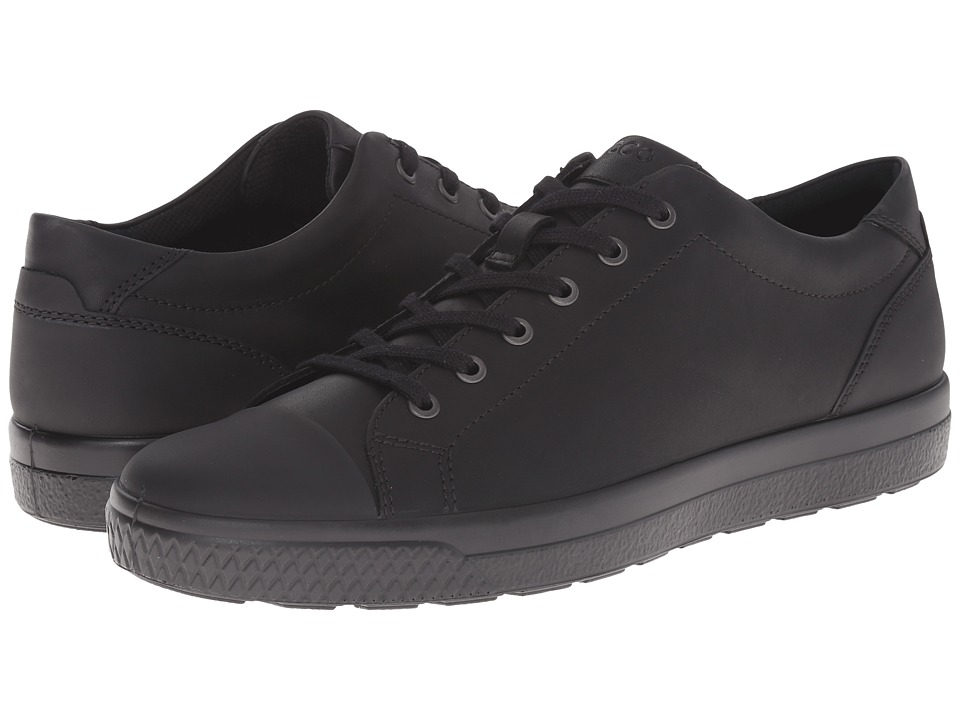 ECCO - Ethan Tie (Black/Black) Men's Lace up casual Shoes